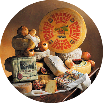 Traditional Bergamo cheese
